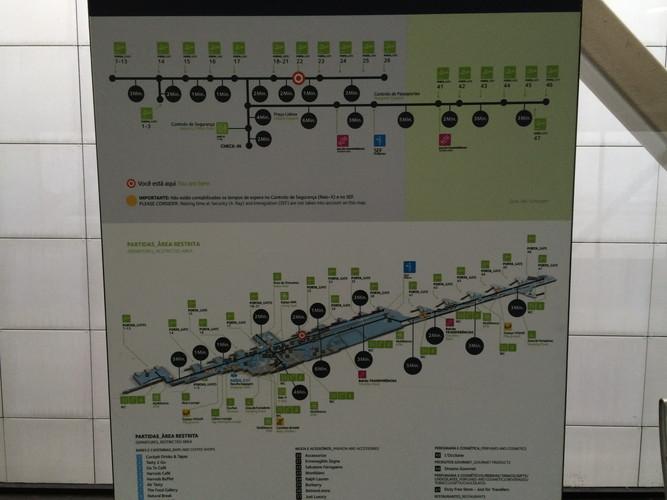 リスボン空港地図
