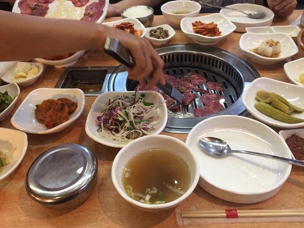 バンコクで韓国焼肉