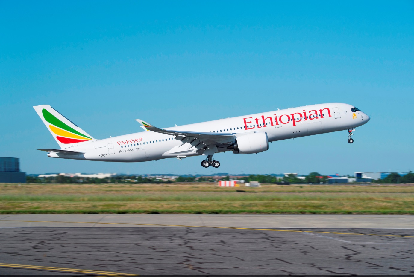 エチオピア航空A350