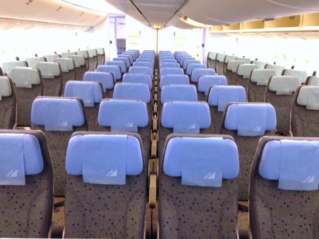 フィリピン航空A330-300 新エコノミークラス