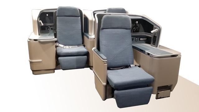 フィリピン航空A330-300 新ビジネスクラス