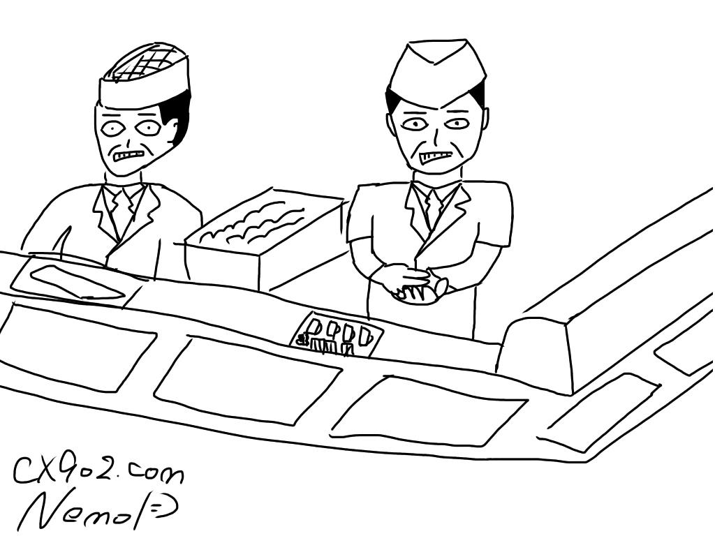 名画「死ぬほど嫌そうに寿司を握る職人」