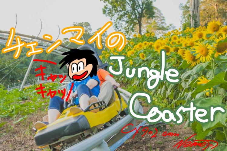 山の斜面っていうか、ジャングルでジェットコースター!? 結構怖いぞ!!Pongyang Jungle Coaster & Zipline【オススメ!ジャングルコースター】