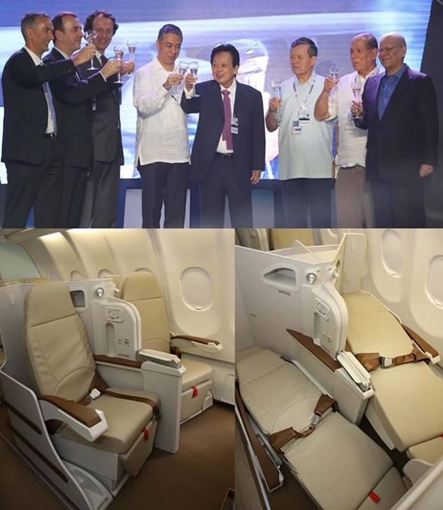 フィリピン航空A330 ビジネスクラス