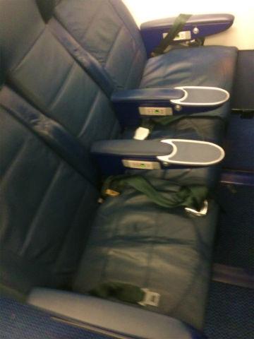 BA A320 Business Class Seat