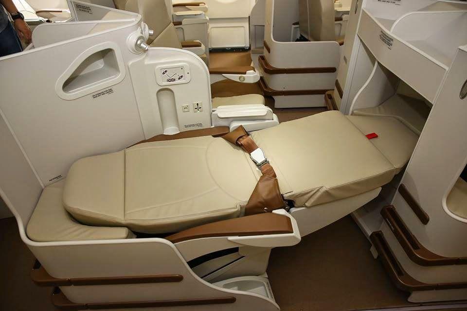 フィリピン航空A330足クロスビジネスクラス