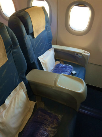 フィリピン航空ウンコビジネスクラス