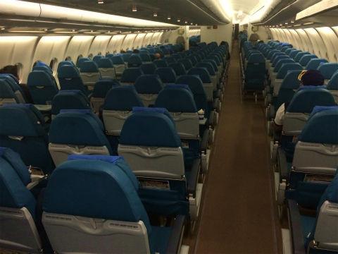 フィリピン航空A330 エコノミークラス